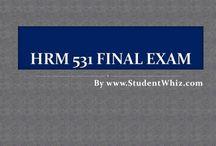 HRM 531 Final Exam