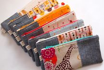 zippered pouches / by Lisa Epp