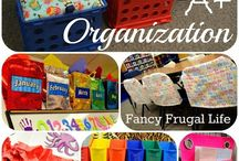 Organizing the classroom / by Judy Evans