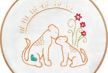 Embroidery Patterns / Modern Embroidery made with Aria Lane Embroidery Patterns