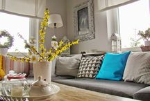 My Home - I like scandinavian style / white & colours in my home