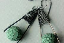 σκουλαρίκια σύρμα