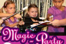 Magic birthday party ideas