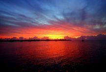 Seascapes - Sunrise, Sunset