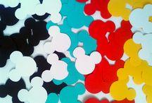 Festa Mickey e Festa Minnie / Os ratinhos mais amados da Disney estão aqui nestes lindos produtos para decorar a sua festinha. Tema Mickey e tema Minnie!