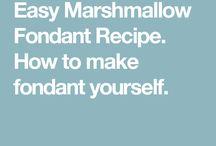Fondant recipes