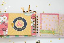 Mini album / mini book. Scrapbooking