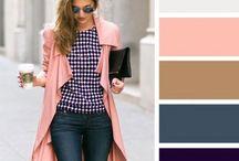 Цветосочетание в одежде