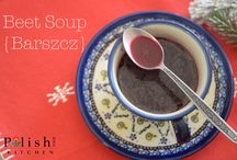 Polish Soups / Authentic Polish recipes for Polish soups, prepared by a Polish home chef, Anna @polishyourkitchen.