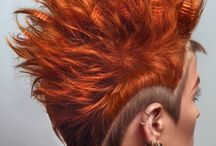 This grown-ass woman wants a mohawk with hair tattoos