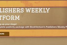 We're Setting Up your Stage! / We're preparing your very own publicity platform with our newest marketing service, Publishers Weekly Platform. Get the complete marketing package and save up on the cost. The Publishers Weekly Platform includes all the necessary materials and publicity service you'll need to promote your book. Get featured in one of the most prominent publication to date and get your audience talking!