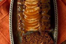 Toffee apple gingerbread loaf