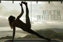 nature and yoga