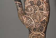Pattern. Tribal. Vibrational. Geometric. Henna. / A board dedicated to symbolic and representative artworks.