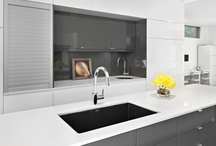 modern kitchen design / kitchen, interior design, modern