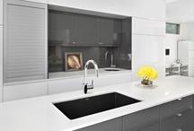modern kitchen design / kitchen, interior design, modern