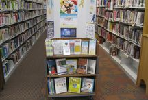 Library Displays / Our ‪#‎AutismNJAmbassador‬ Program provides individuals and organizations to educate their communities about autism and help build acceptance.  Use your library to spread your awareness message!