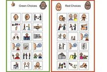 autism behavior charts
