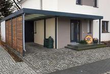 Vordach und Carport