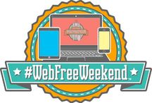 #WebFreeWeekend / Share photos and videos of you taking the pledge to enjoy a #WebFreeWeekend and why you want to. Also share the photos and videos of your #WebFreeWeekend afterwards to inspire others to take time to enjoy the #webfree moments with friends, family or even on their own!  More info at http://webfreeweekend.com - Take the pledge and share on social media with #WebFreeWeekend ; )
