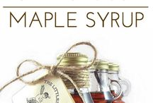 Honey, Sugar and Maple Syrup