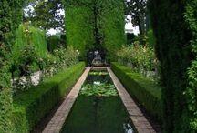 Garden fountains etc.