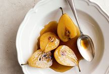 Desserts- Fruit: fresh/poached/ roasted/grilled