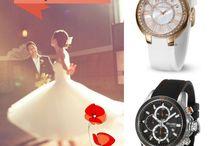Bodas con DUWARD / El día perfecto, el vestido soñado, los relojes adecuados con DUWARD