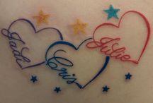 Tatuajes de hijas