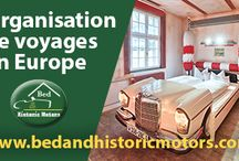 organisation de voyages en voitures de collection / organisation de voyages en voitures de collection, en France et en Europe - location de voitures anciennes, location de moto de collection, roadbook, roadtrip - http://www.bedandhistoricmotors.com/