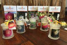 Western Australian Wild Flower Essence infused soy wax candles
