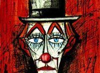 Clown Bernard Buffet