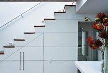 armario abaixo da escada