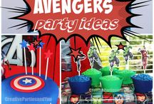 Party ideas - Avengers