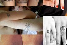 Matching tattoos family