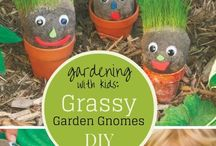 Gardening With Kids / A collection of ideas to teach the little ones how to begin gardening!