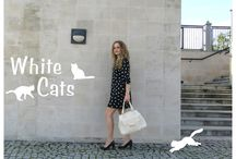 FASHION - White CAT / http://alliness.blogspot.com/