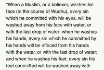 Hadith of RasoolAllah and Islamic quotes