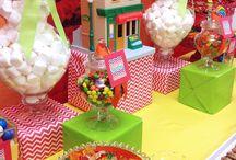 Sesame Street Birthday Decor