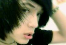 emo hairs