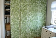 Cupboard doors - to hide/decorate