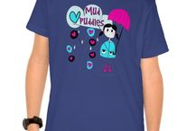 Kids T-shirts / Cute T-shirts for kids with tons of designs like trains, planes, cars, trucks, princess, fairies, owls, elephants, tigers, much more!