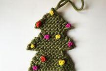 deco noel tricot