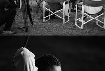 Zanele Situ - Behind the Scenes / In the portrait, Situ is photographed leaning back in the action of throwing a javelin, the event for which she won gold at the Paralympic games in Sydney in 2000, and breaking the world record in the process.