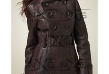 Womens Leather Coats /  Long Women Leather Coats at discount price from LeatherNXG.Online Shop to Buy Women Black Leather Coats, Wimter Leather Coats for women.Buy womens Leather Coats on sale.