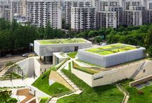 Roof gardens / Greenroof systems and roof gardens