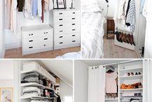 Clósets / Posibles ideas para un closet.