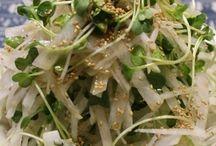 サラダ、野菜