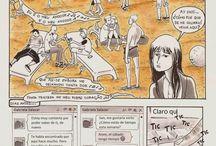 Hello, My Love / Hello, My Love es una serie de historietas narrada en tres capítulos: Playa Paraíso, Ruégame, Alguien a quien solía conocer.  #queer #comics #comiccolombiano #Ladesparchada http://memoriasdeunadibujanteresponsable.blogspot.com.co/p/comic.html