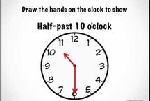 1st grade telling time / by Suzeana Barrera